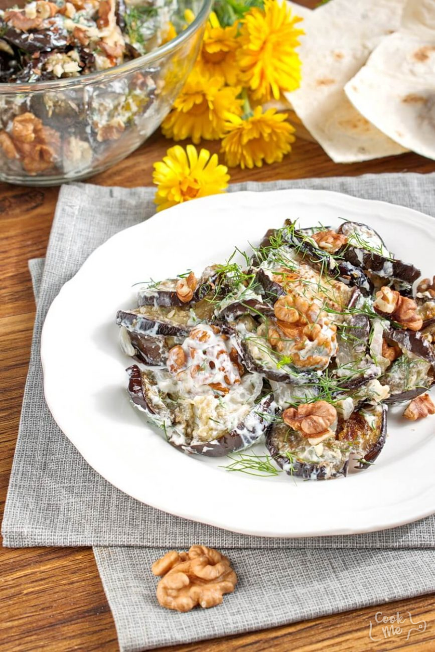 Eggplant with Yogurt and Dill