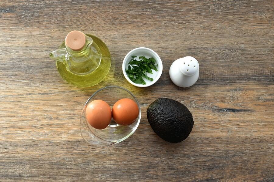 Ingridiens for Keto Eggs Baked in Avocado