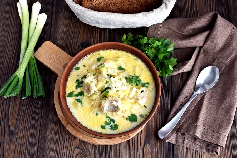 How to serve Favorite Fish Chowder