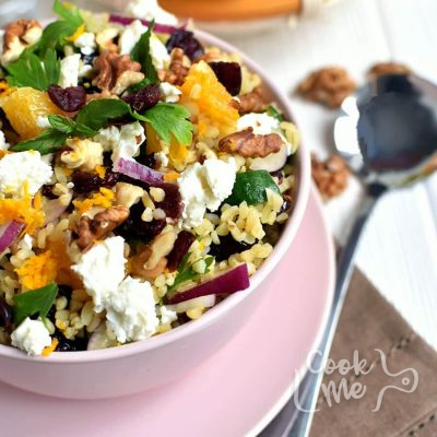 Fruited Tabbouleh with Walnuts and Feta Recipe-How to make Fruited Tabbouleh with Walnuts and Feta-Delicious Fruited Tabbouleh with Walnuts and Feta