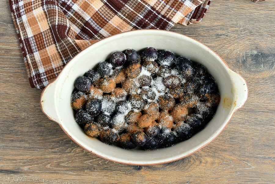 Gluten Free Grape Crisp recipe - step 3