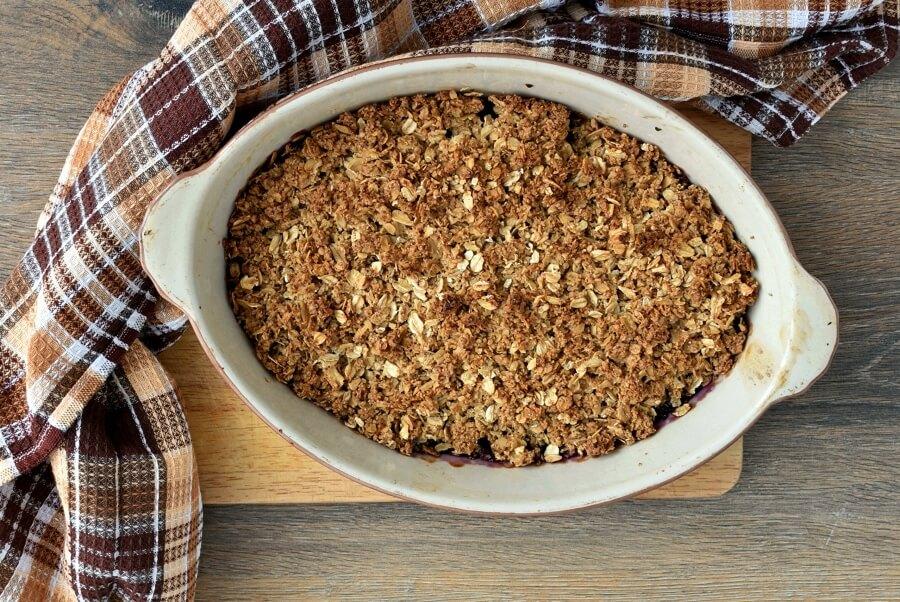 Gluten Free Grape Crisp recipe - step 5