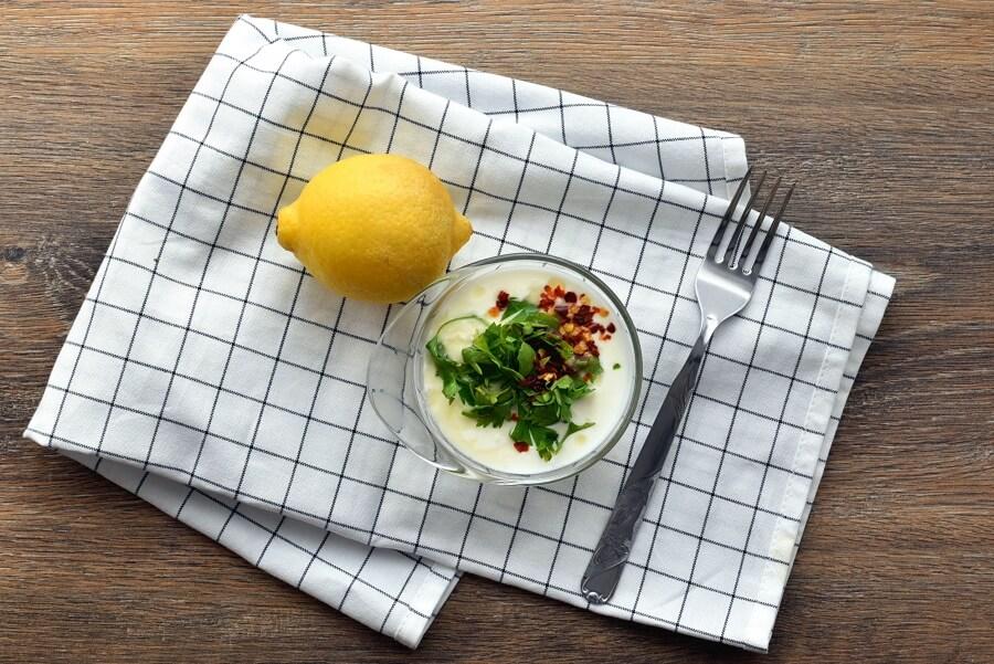 Greek Potato Wedges recipe - step 4