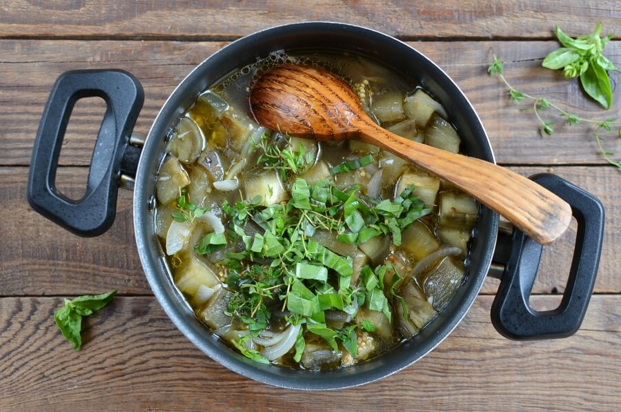 Healthy Eggplant Soup recipe - step 5