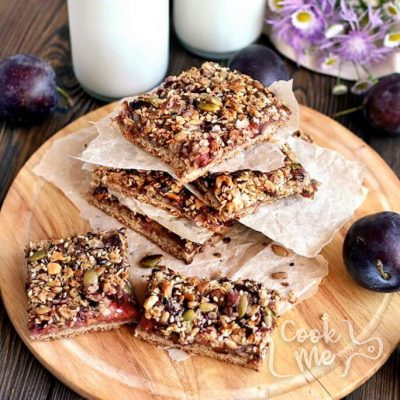 Healthy-plum-slice-Recipe-How-to-make-Healthy-plum-slice-Delicious-Healthy-plum-slice
