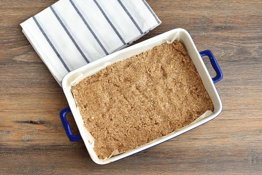 Healthy Vegan Plum Slice recipe - step 4