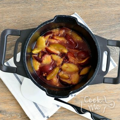 Healthy Vegan Plum Slice recipe - step 1