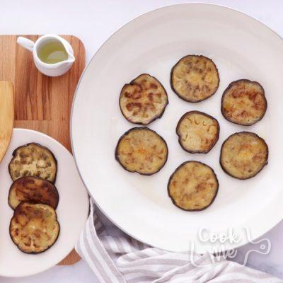 Mediterranean Yogurt Flatbread with Crispy Eggplant recipe - step 8