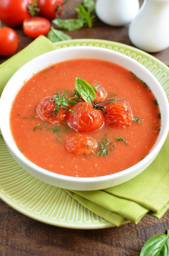 Icy Tomato Soup Recipe-How To Make Icy Tomato Soup-Delicious Icy Tomato Soup
