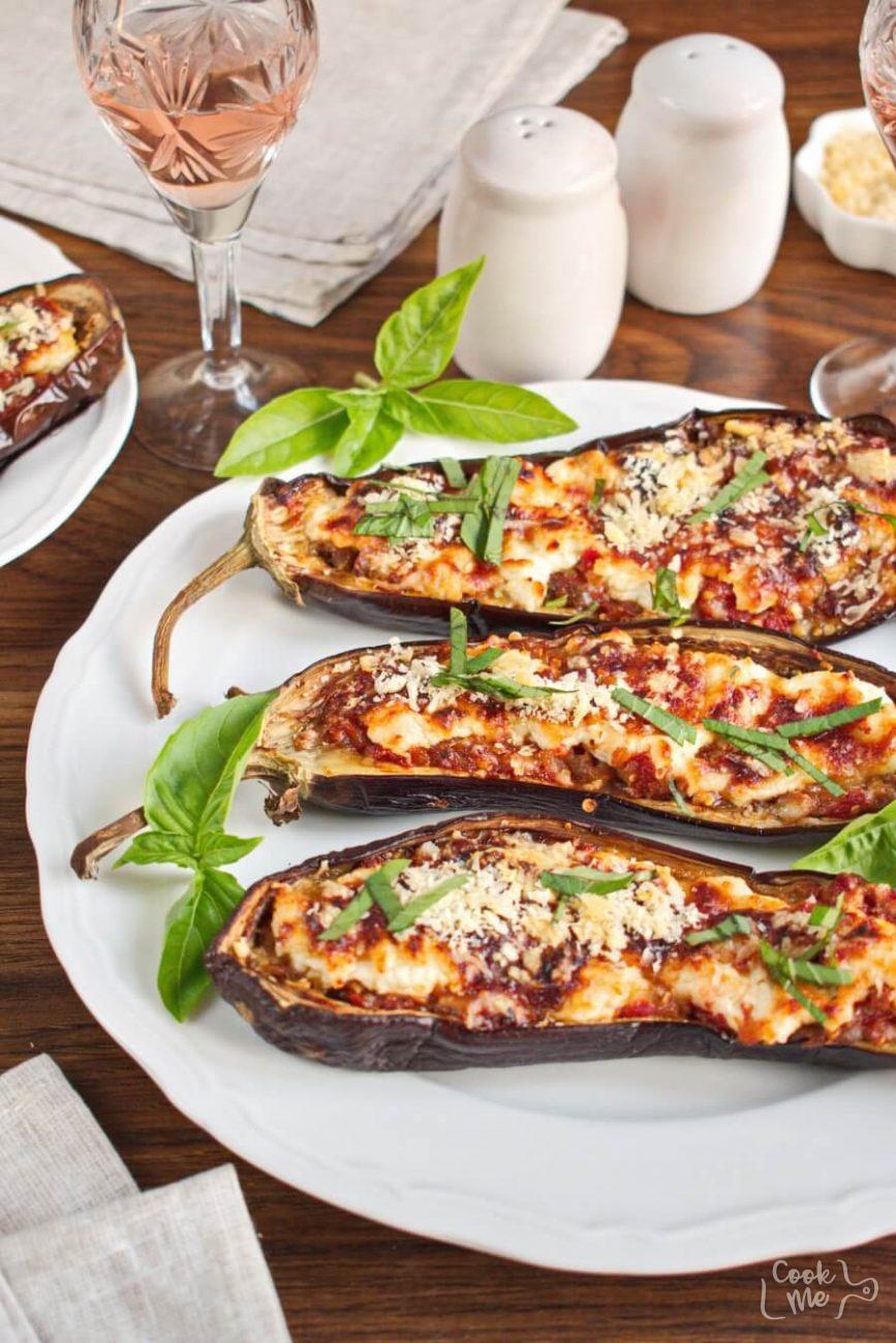 Italian Style Stuffed Eggplant