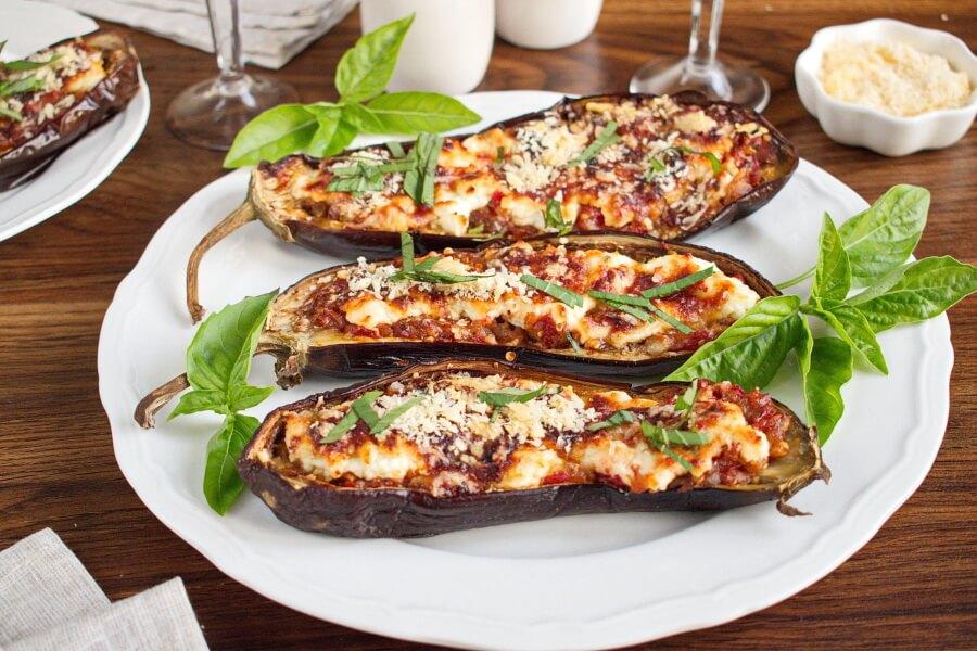 How to serve Italian Style Stuffed Eggplant