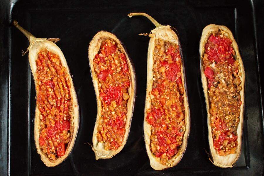 Italian Style Stuffed Eggplant recipe - step 7