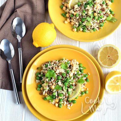Lemony rice and peas Recipe-How to make Lemony rice and peas-Delicious Lemony rice and peas