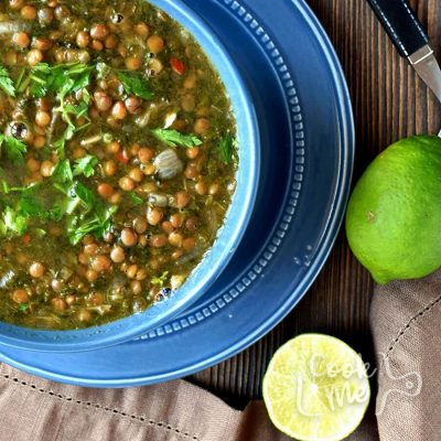 Mediterranean Spicy Spinach Lentil Soup Recipe-How to make Mediterranean Spicy Spinach Lentil Soup-Delicious Mediterranean Spicy Spinach Lentil Soup