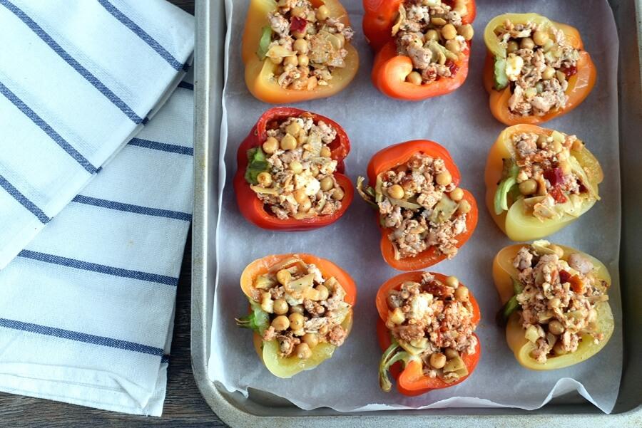 Mediterranean Stuffed Peppers recipe - step 5