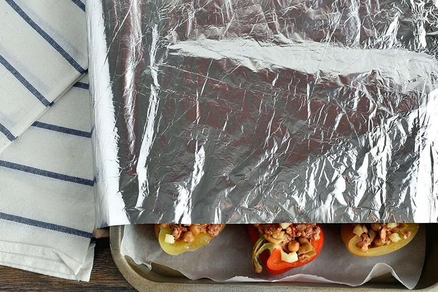 Mediterranean Stuffed Peppers recipe - step 6