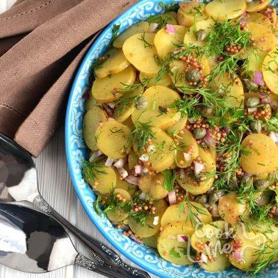 Mediterranean-Style Mustard Potato Salad Recipe-How to make Mediterranean-Style Mustard Potato Salad-Delicious Mediterranean-Style Mustard Potato Salad