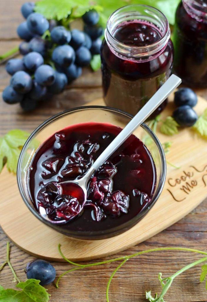 Old Fashioned Grape Jam Recipe Cook