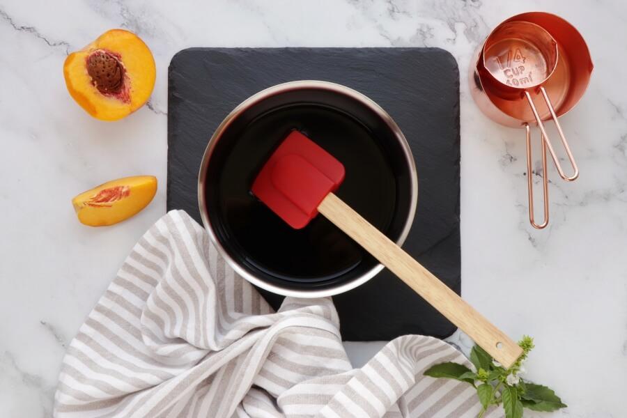 Peach and Prosciutto Pizza recipe - step 2