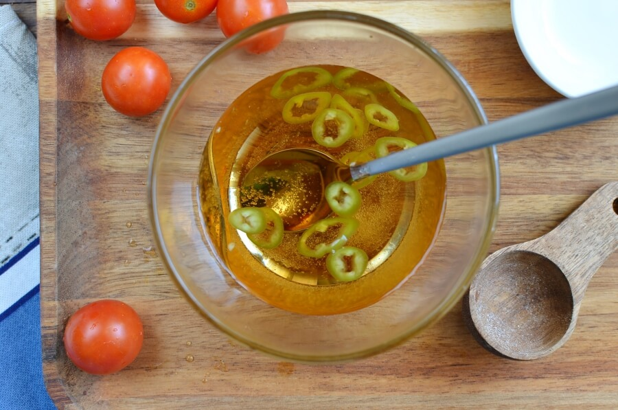 Pickled Cherry Tomatoes recipe - step 1