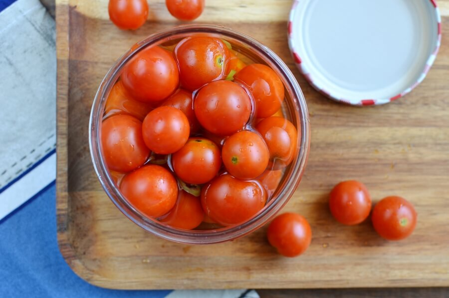 Pickled Cherry Tomatoes recipe - step 4