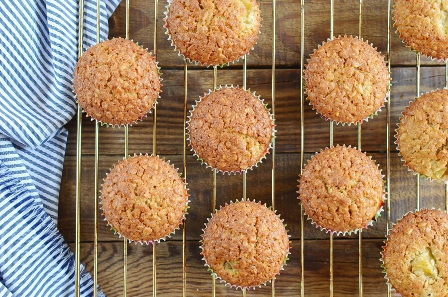 How to serve Plum Oat Muffins