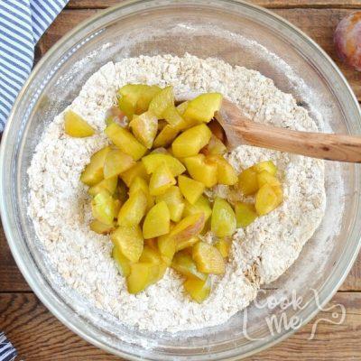 Plum Oat Muffins recipe - step 3