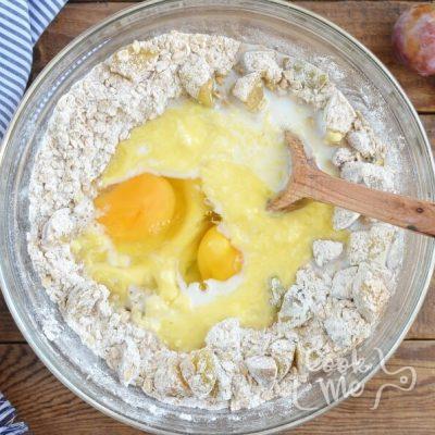 Plum Oat Muffins recipe - step 4