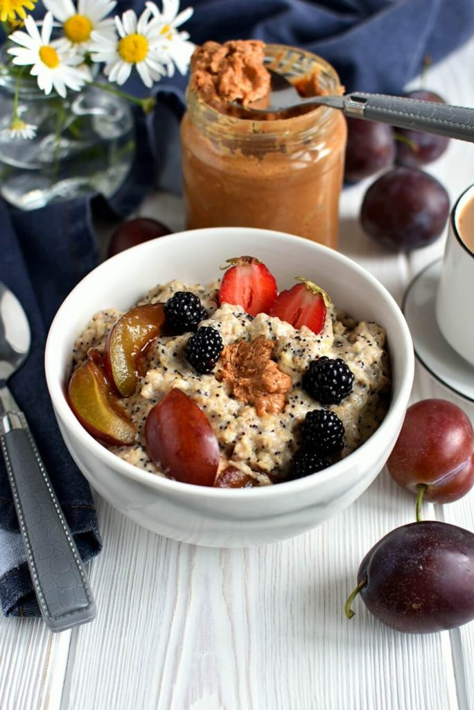 Homemade Fruit and Seed Oatmeal