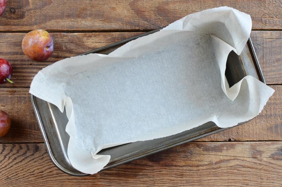 Plum Pound Cake recipe - step 1