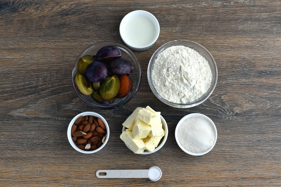 Plum Tart Recipe-How to make Plum Tart-Delicious Plum Tart