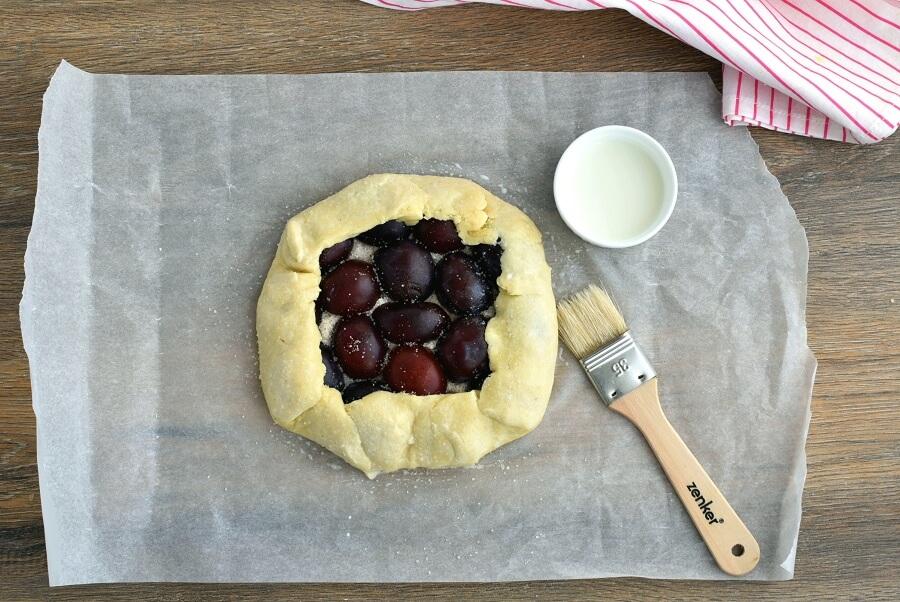 Plum Tart recipe - step 11