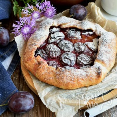 Plum Tart Recipe-How to make Plum Tart-Delicious Plum Tart