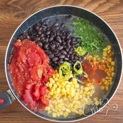 Quick Chicken and Black Bean Soup recipe - step 3