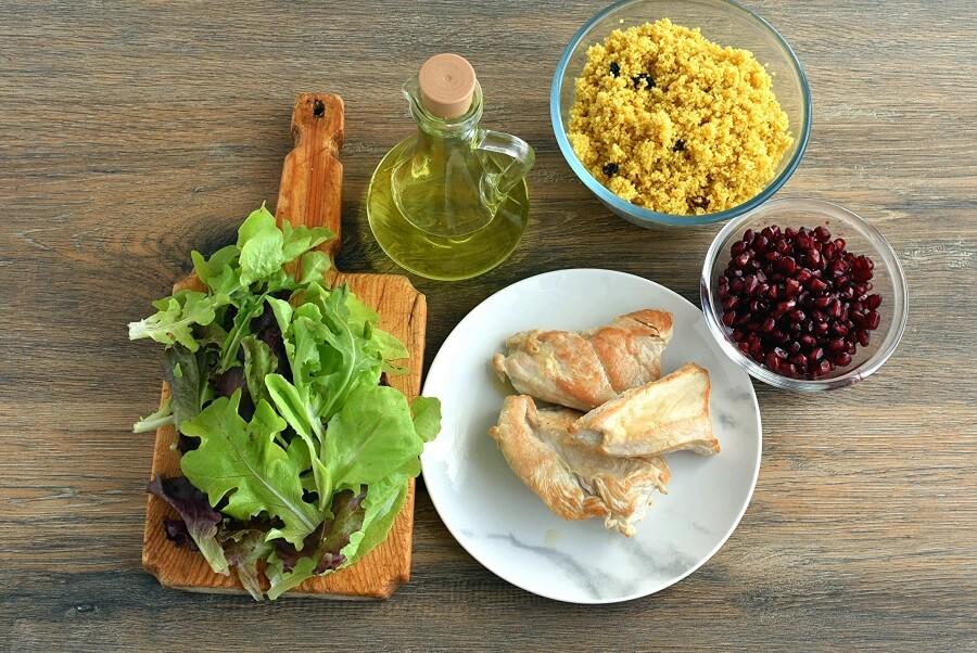 Ingridiens for Quick Turkey Couscous