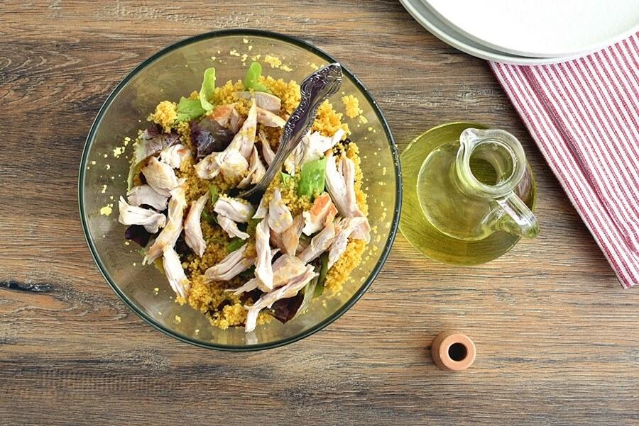 Quick Turkey Couscous recipe - step 2