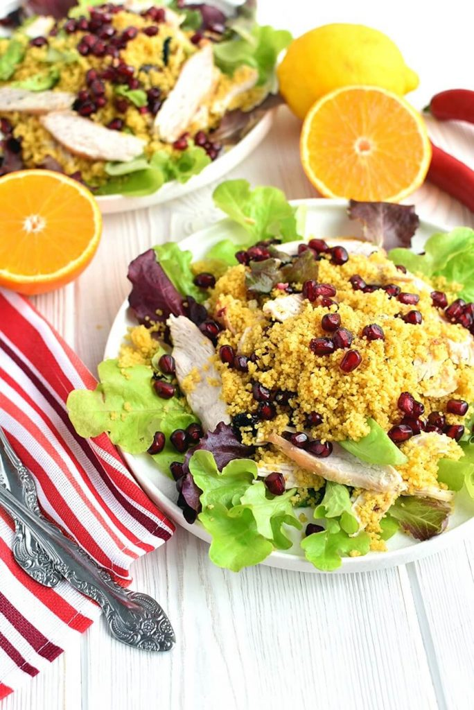 Meals in Minutes with Turkey Couscous