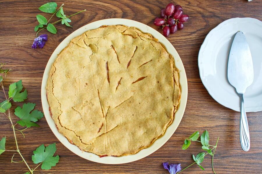 Ruby Grape Pie recipe - step 7
