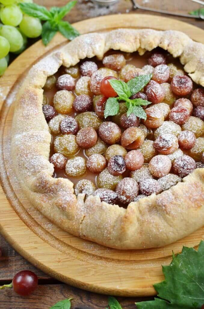 Cute and Quaint Grape Tarts