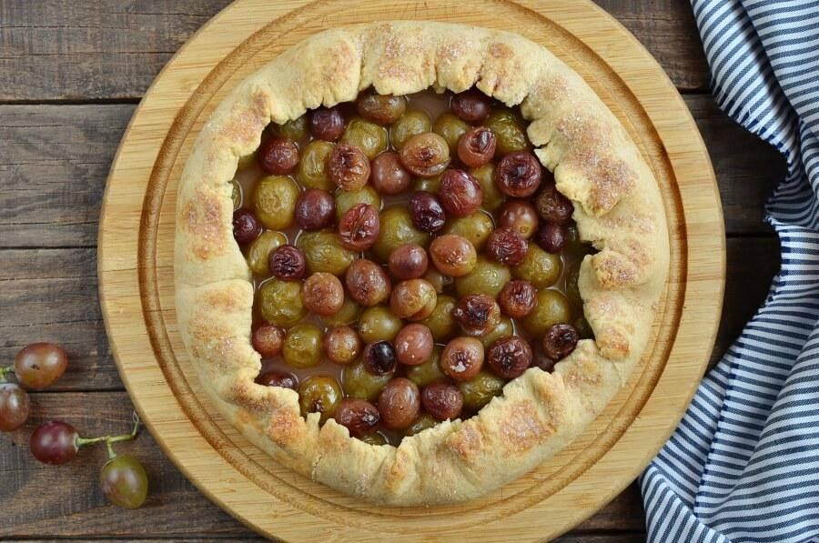 Rustic Grape Tarts recipe - step 9