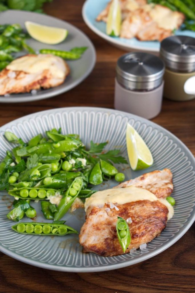 Seared Coconut-Lime Chicken with Snap Pea Slaw recipe-Best Seared Coconut-Lime Chicken