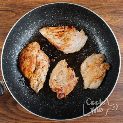 Seared Coconut-Lime Chicken with Snap Pea Slaw recipe - step 4