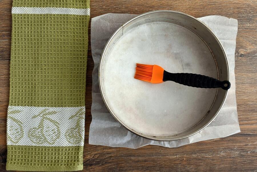 Spiced Plum Custard Cake recipe - step 1