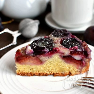 Spiced Plum Custard Cake Recipe-How to make Spiced Plum Custard Cake-Delicious Spiced Plum Custard Cake