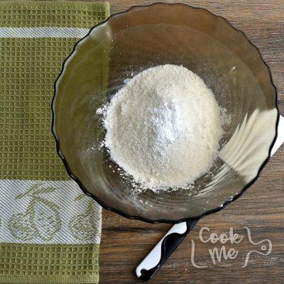Spiced Plum Custard Cake recipe - step 3