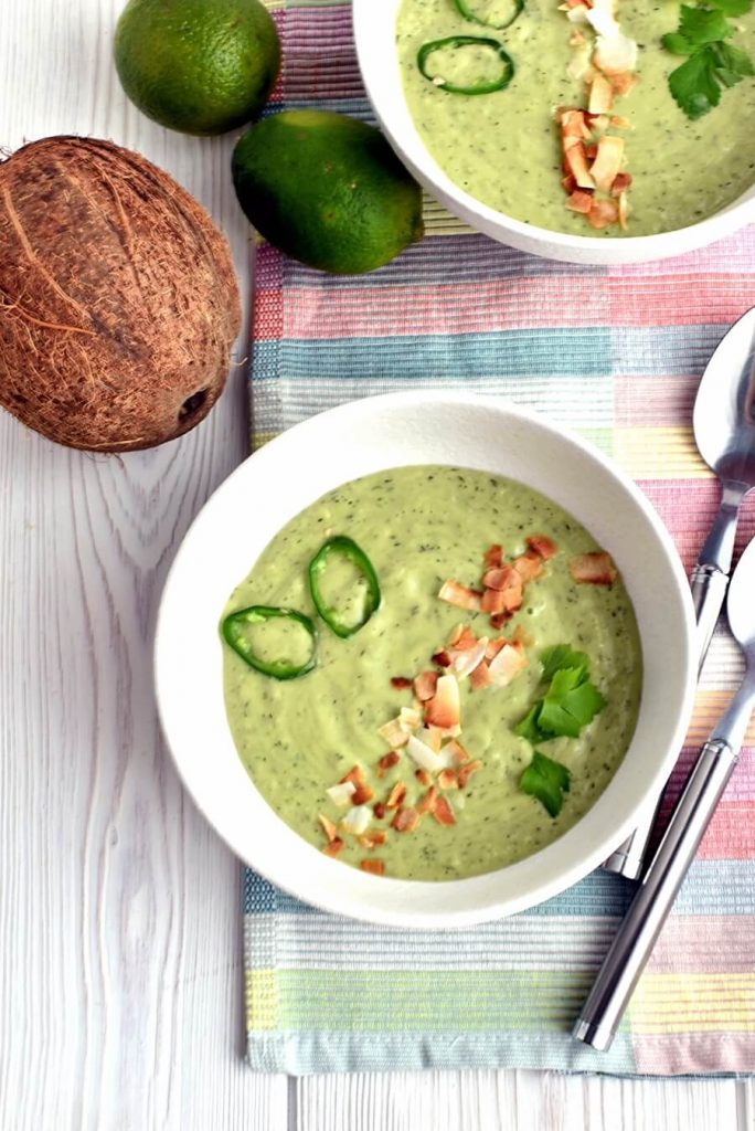 A cold summer soup to feed a crowd