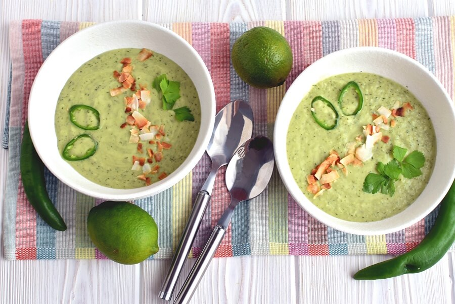 Spicy Avocado-Cucumber Soup Recipe-How to Spicy Avocado-Cucumber Soup-Delicious Spicy Avocado-Cucumber Soup