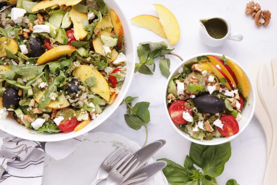 How to serve Summer Greek Quinoa Salad
