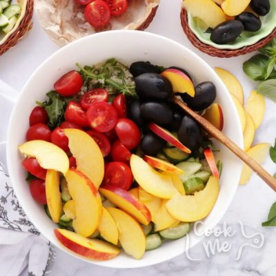 Summer Greek Quinoa Salad recipe - step 4