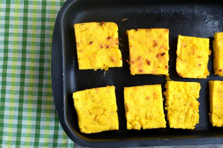 Sweet Corn Polenta and Tomato Salad recipe - step 10